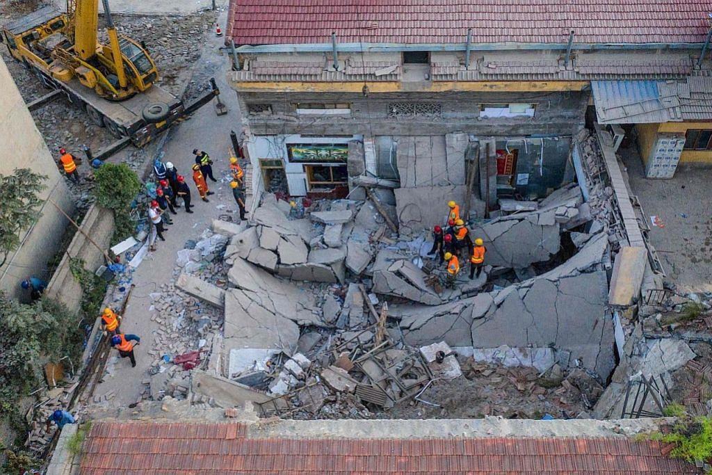 Jumlah kematian restoran runtuh di China meningkat