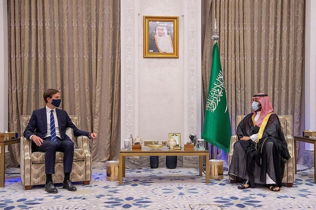 Kushner galak negara Arab lain sokong damai