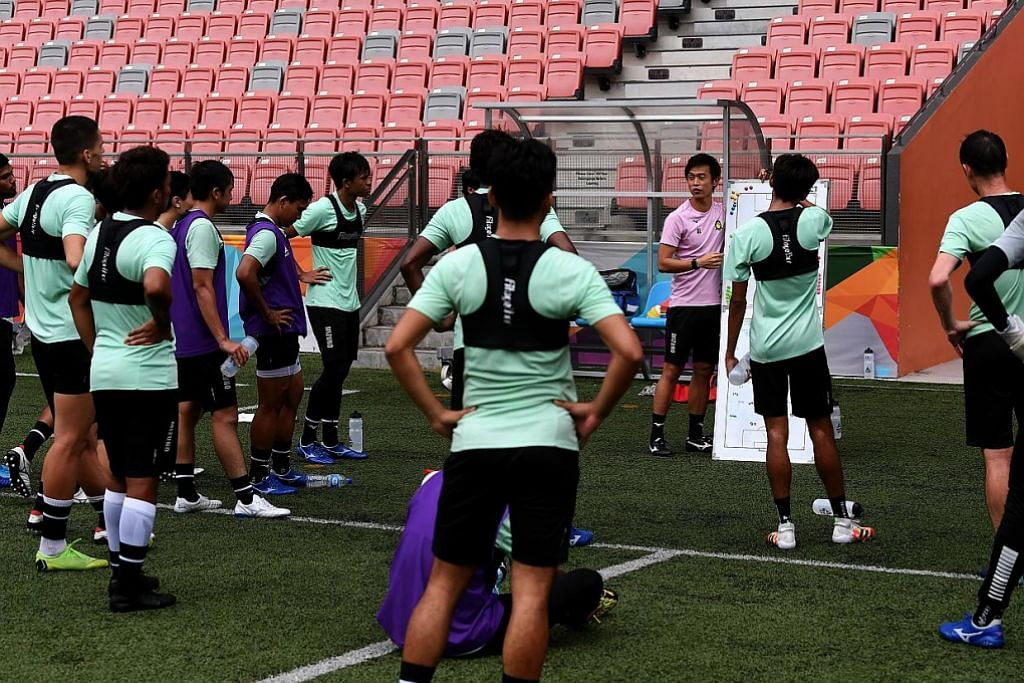 LIGA PERDANA SINGAPURA Lega berlatih semula tapi terus berjaga-jaga