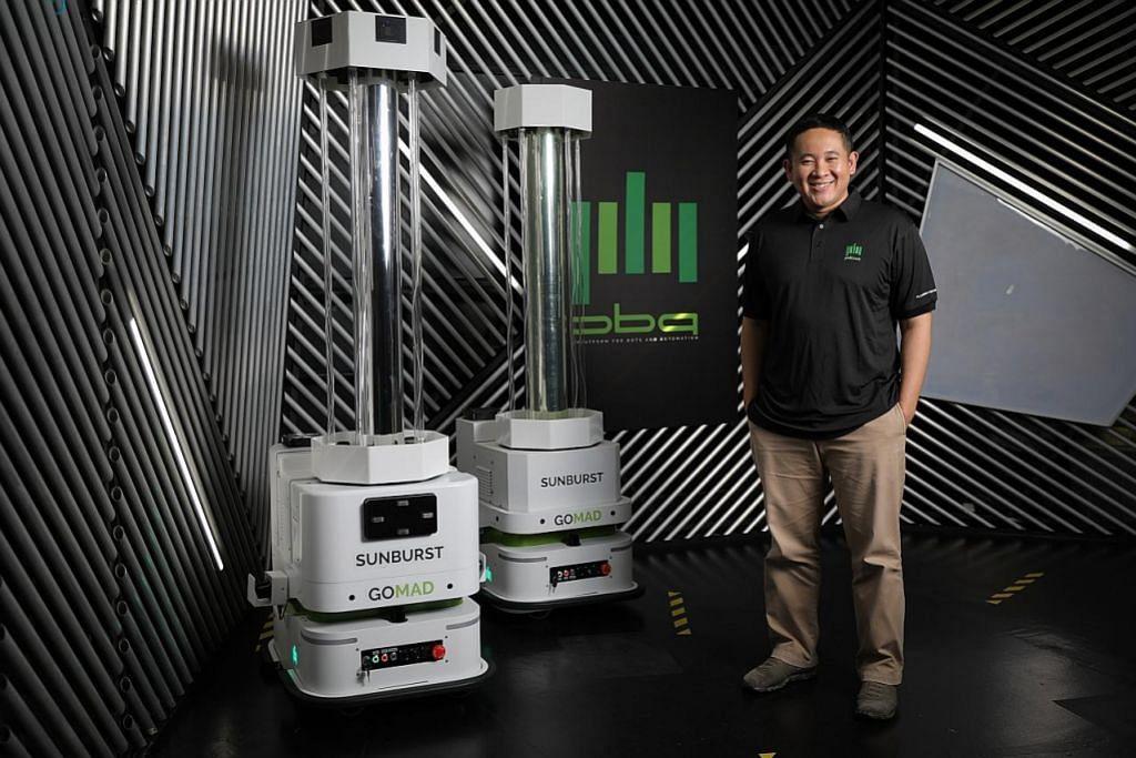 Amrin bakal sertai dua firma teknologi