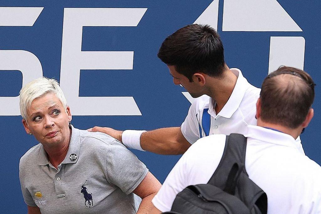 Djokovic 'singkir' diri sendiri