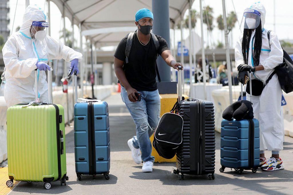 AMERIKA SYARIKAT Pemeriksaan lebit ketat Covid-19 ke atas pengunjung luar negeri mungkin dihenti