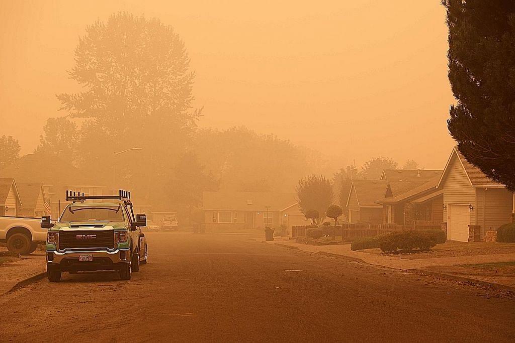 Sumber bantuan AS terjejas teruk gara-gara kebakaran besar