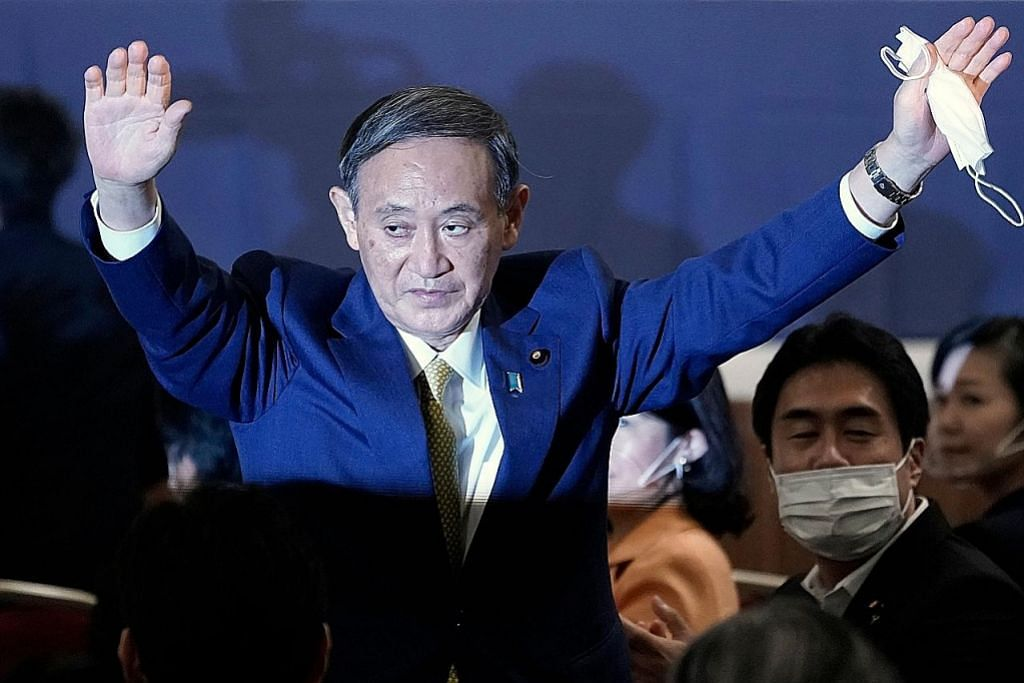 Suga bakal ganti Abe jadi PM baru Jepun