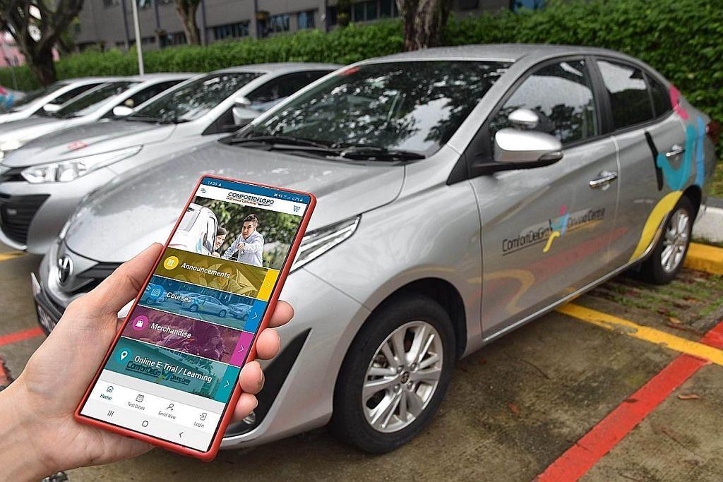 ComfortDelgro lancar aplikasi permudah urusan kursus memandu