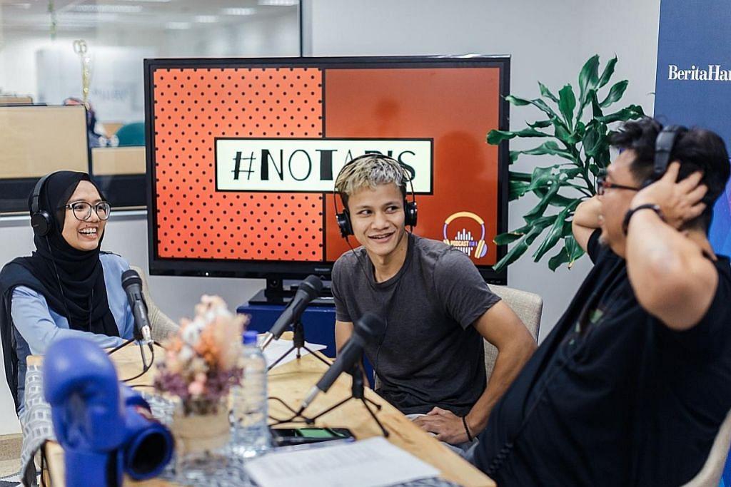 Dari podcast ke video, program gaya hidup di IG... nikmati sajian BH di pelbagai media