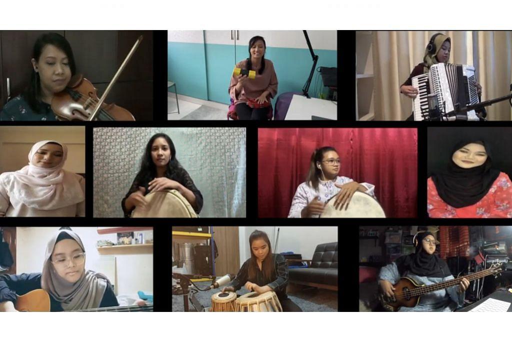 Sentuhan '10 Hawa' beri nafas tradisional pada lagu popular