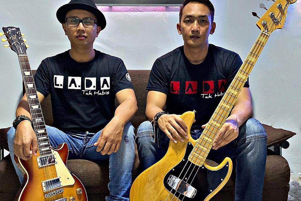Ingin kekalkan jati diri L.A.D.A olah genre rok dan etnik