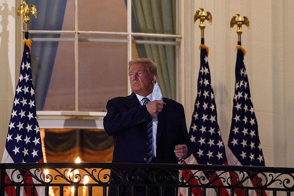 Trump, isteri dijangkiti Covid-19