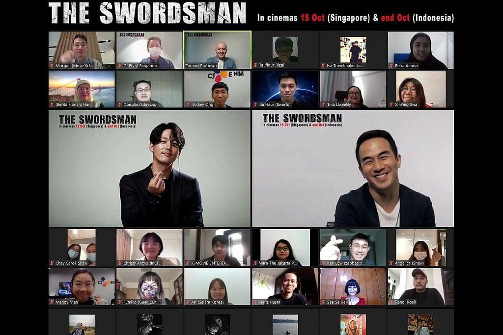 Bintang Korea seronok jayakan filem aksi