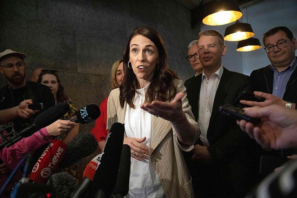 Ardern rancang bentuk pemerintah NZ dalam tempoh 2-3 minggu