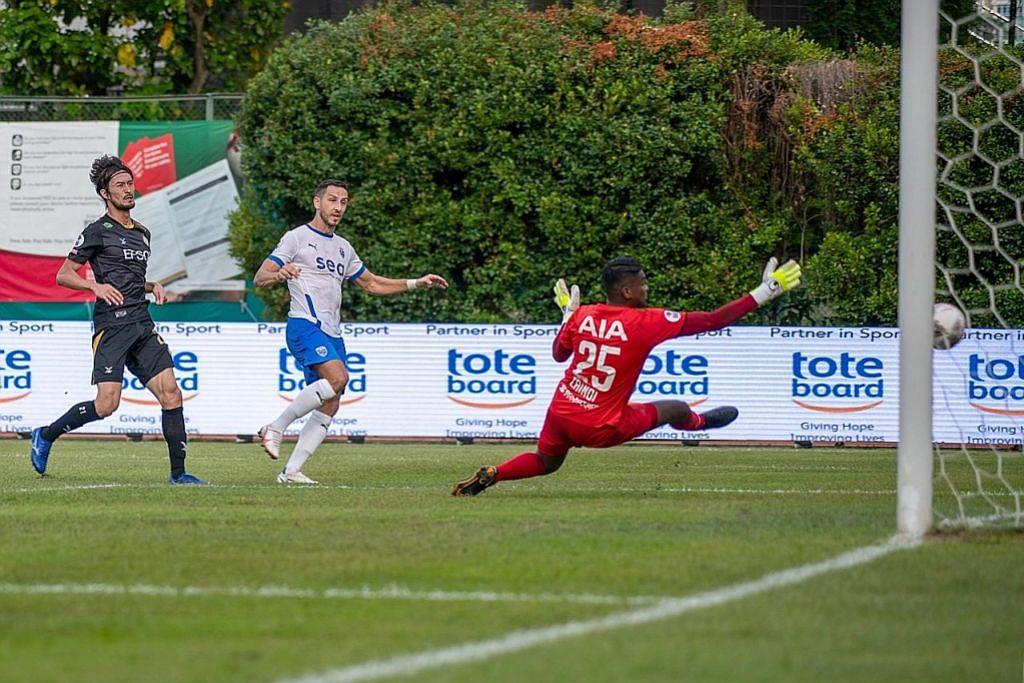 12 gol dijaring apabila aksi Liga Perdana Singapura bermula