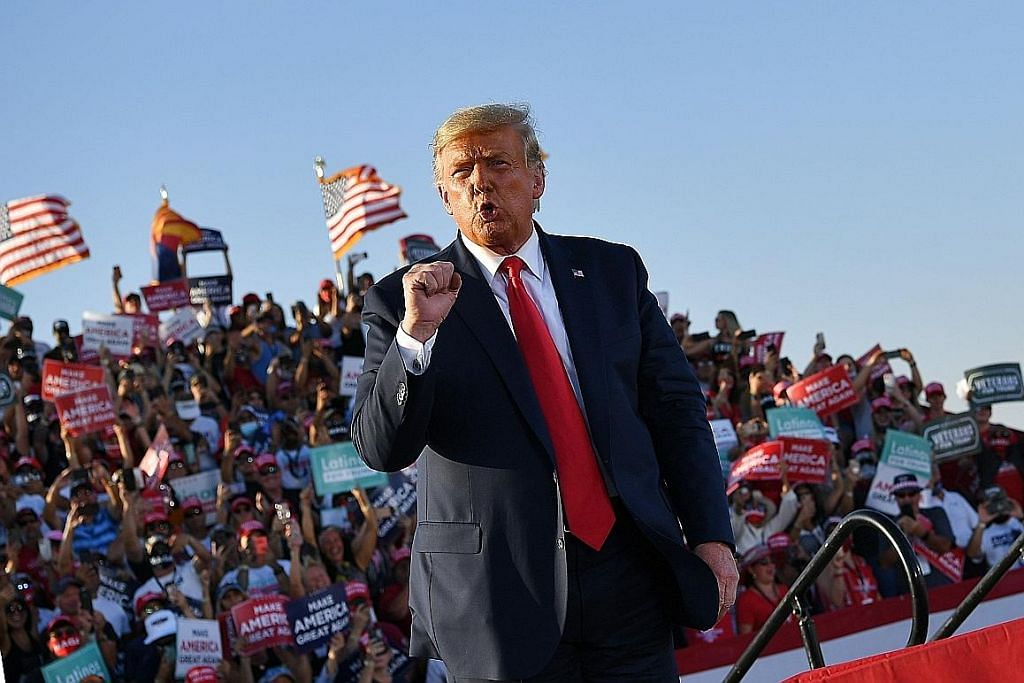 Pasukan Trump umum belanja $74j kempen pengiklanan