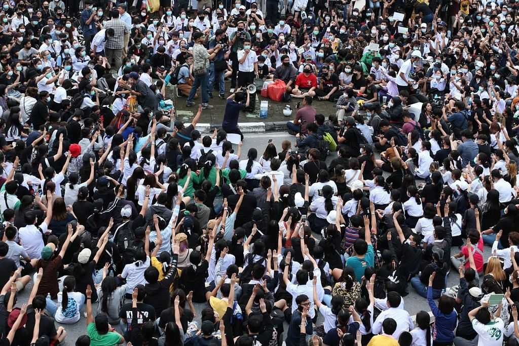 Proses politik cara terbaik atasi tunjuk perasaan: Timbalan PM Thai