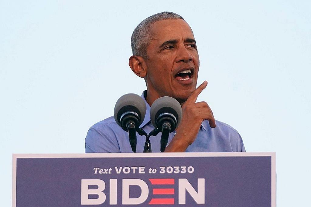 Obama beri sokongan, berucap bagi pihak Biden
