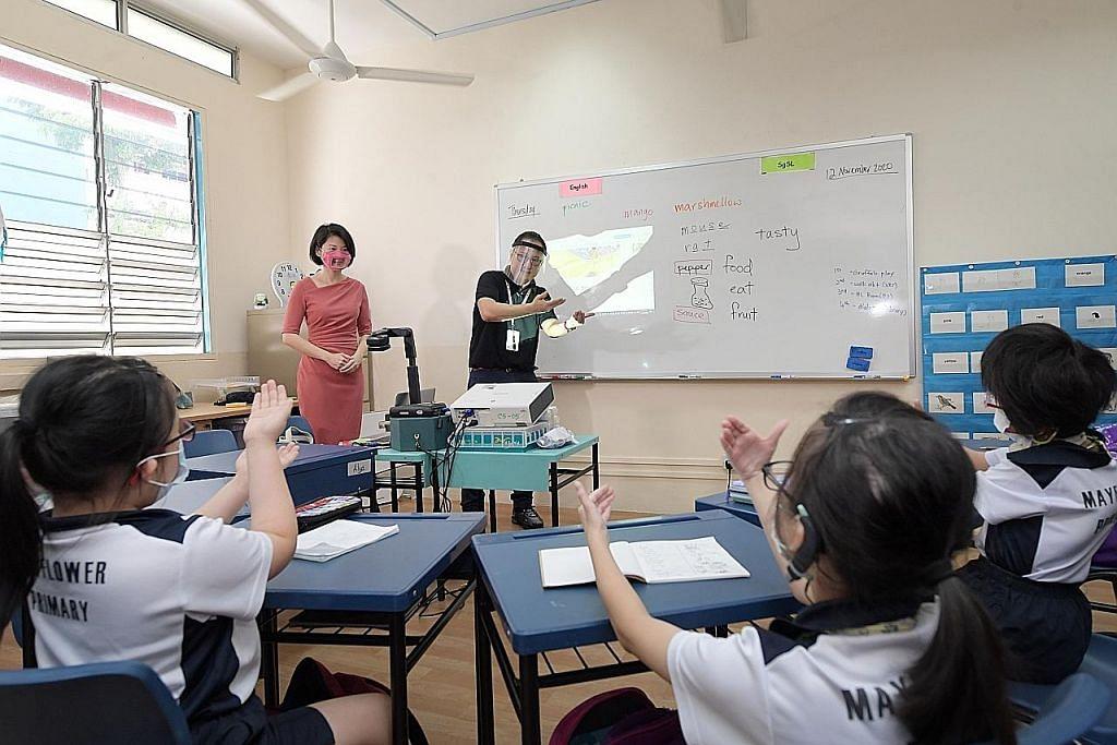 Prasekolah MOE ajar bahasa isyarat bagi kanak-kanak hadapi masalah pendengaran