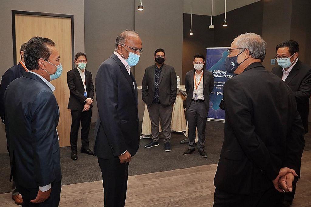Shanmugam: Melayu SG catat kemajuan memberangsangkan
