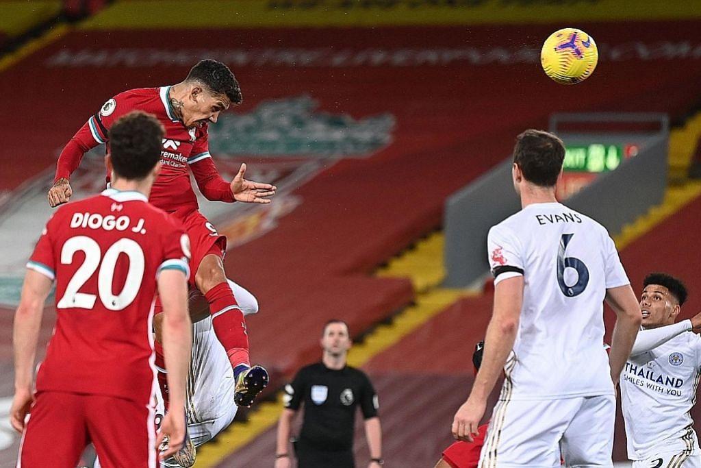 Liverpool tundukkan Leicester 3-0