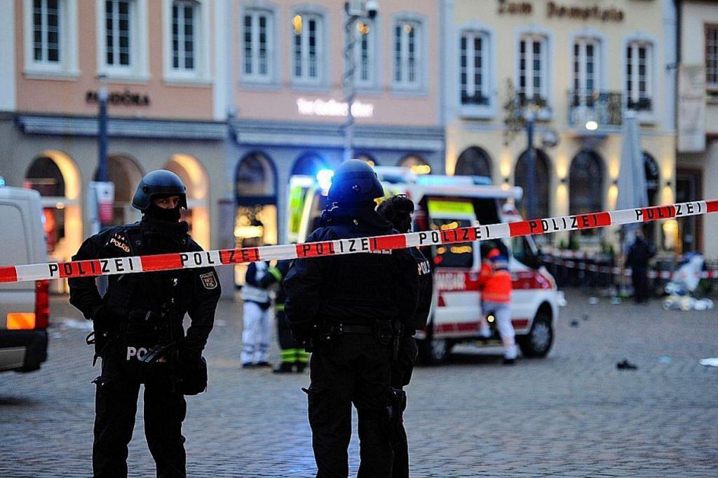 5 maut SUV rempuh kawasan beli-belah di Jerman