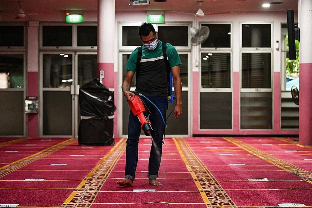 Kes Covid-19: Tiga masjid terjejas laksana pembersihan, anjur solat Jumaat