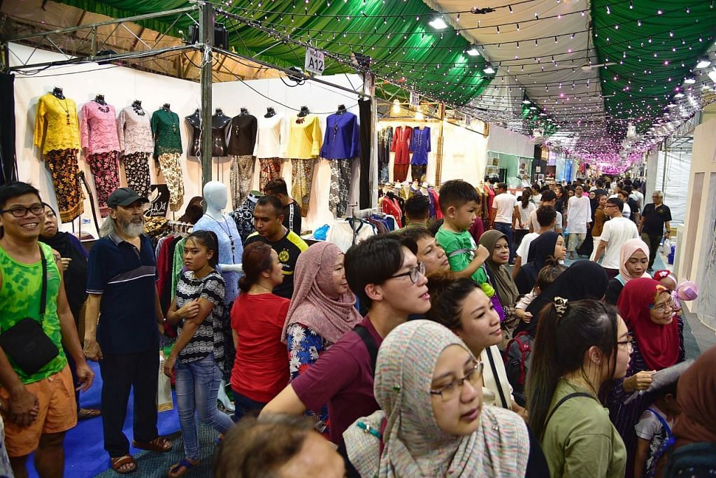 Bazar Hari Raya Geylang Serai 2021 dibatalkan.