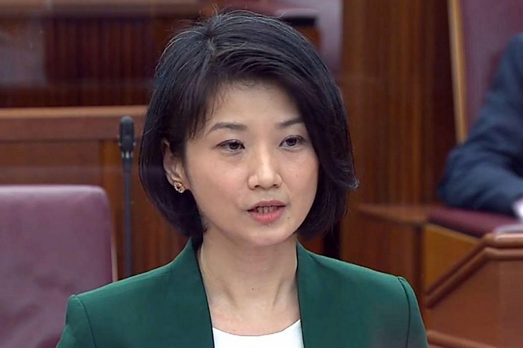 Cik Sun Xuelin Menteri Negara (Pendidikan merangkap Pembangunan Sosial dan Keluarga).