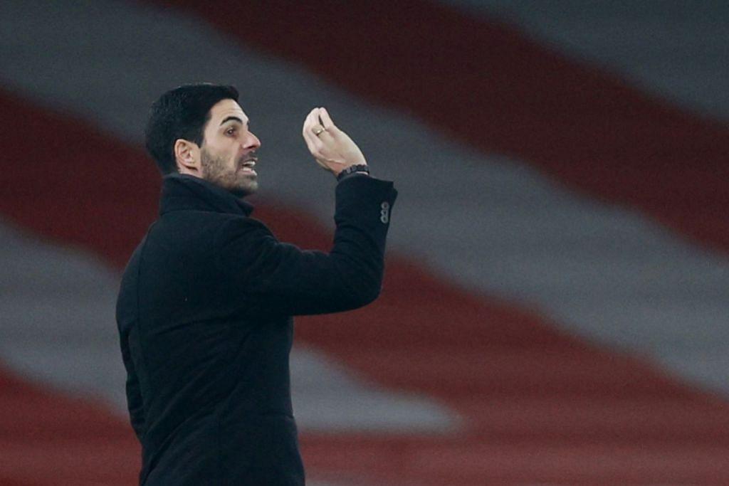 Arsenal Mikel Arteta. Foto EPA-EFE