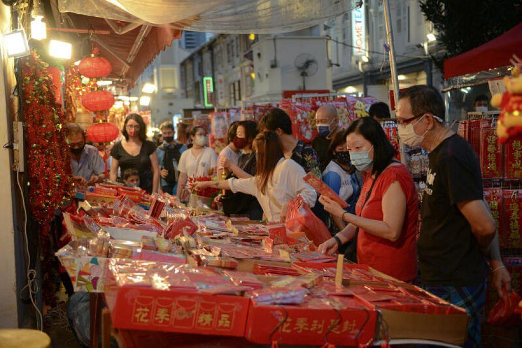 Semasa musim Tahun Baru Cina, orang ramai harus mengunjungi anggota keluarga sahaja, dan  mengehadkan diri dengan mengunjungi paling banyak dua isi rumah lain dalam sehari.