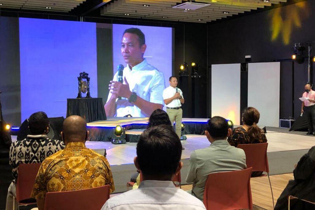 Menurut Encik Fahmi (atas) kumpulan sukarelawan M³@Geylang Serai akan mendekati penduduk untuk memahami dengan lebih mendalam keperluan mereka.