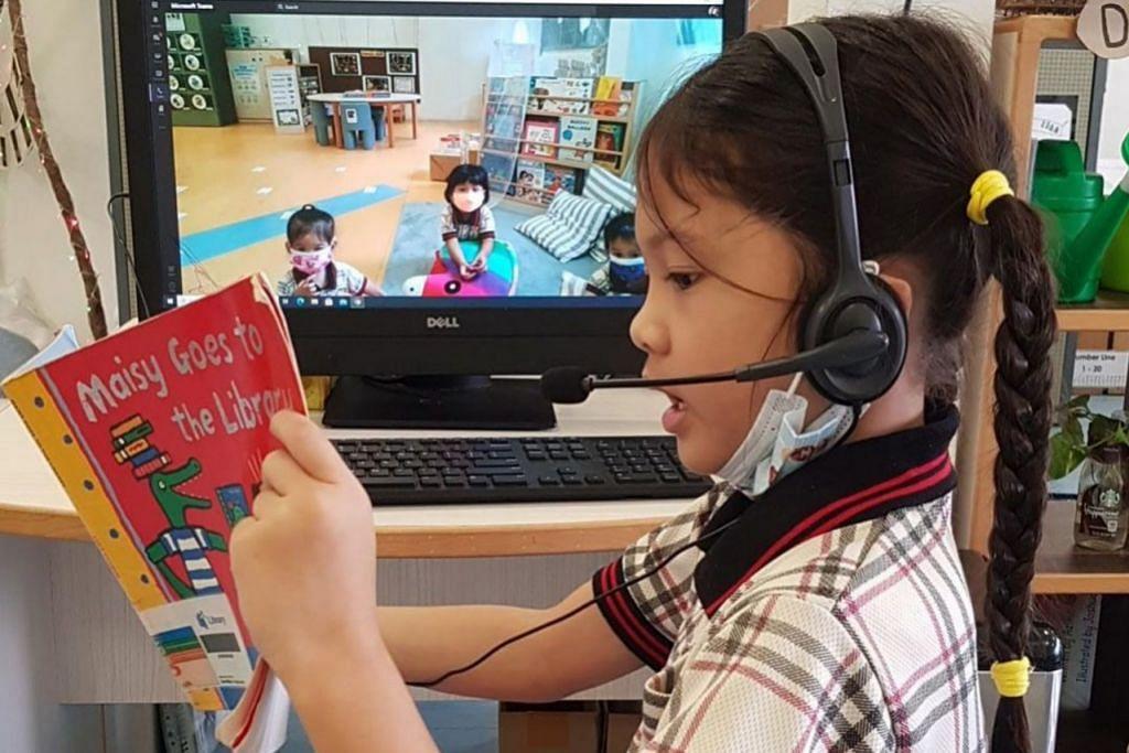 ASAH KEMAHIRAN MEMBACA: Seorang kanak-kanak yang secara konsisten terdedah kepada tradisi cerita lisan memperoleh kemahiran yang mempersiapkan mereka untuk membaca. - Foto PPIS