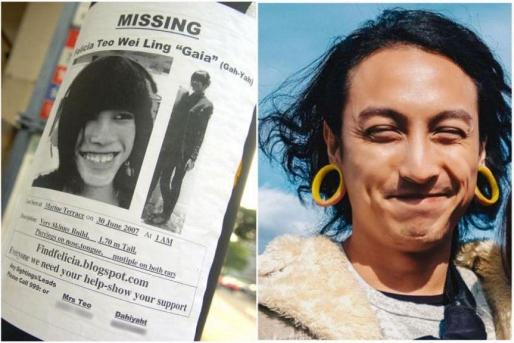 LAPORAN IMH SIAP: Institut Kesihatan Mental (IMH) telah menyiapkan laporan mengenai keadaan lelaki yang didakwa membunuh Cik Felicia Teo Wei Ling pada 2007. - Foto FAIL THE NEW PAPER/FACEBOOK DANIAL ENEMIKO