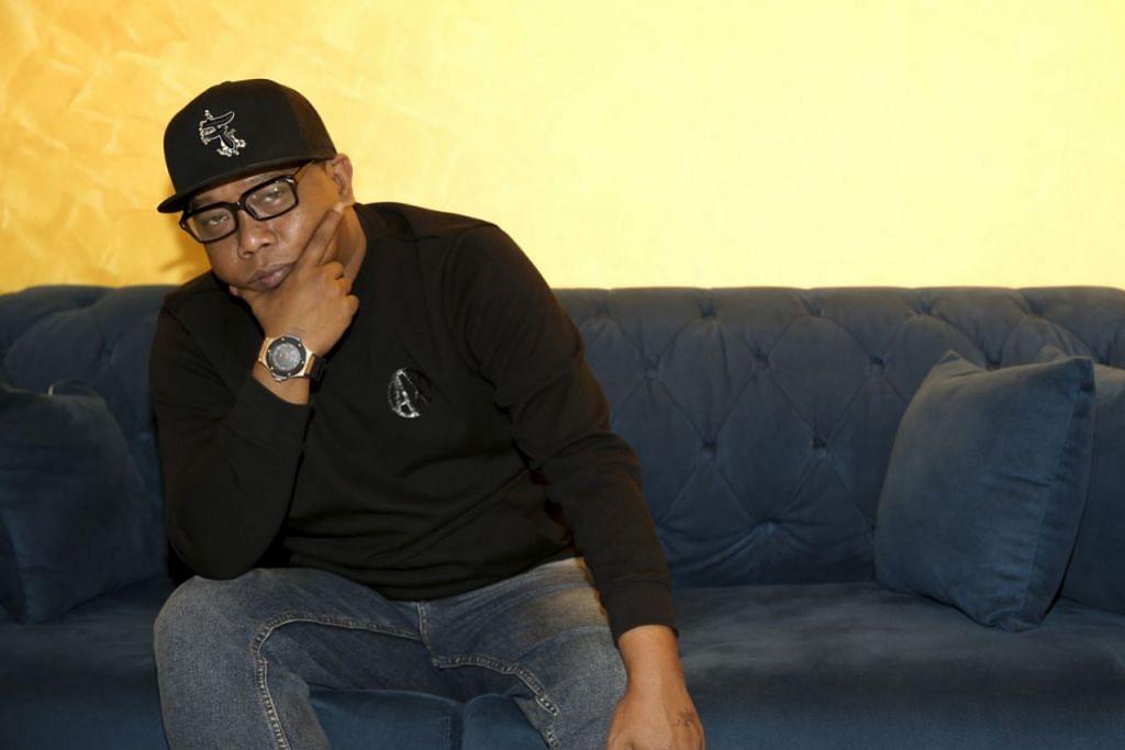 DALY FILSUF: Peka pada penulisan lirik kerana genre hip-hop khususnya didengar generasi muda yang akan terikut-ikut dengan apa yang disampaikan. - Foto BH oleh YONG LI XUAN