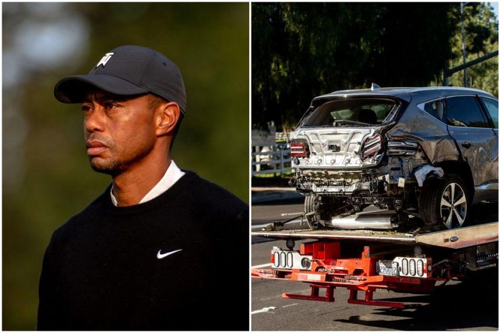 PEMBEDAHAN TULANG: Bintang golf, Tiger Woods, mengalami kecederaan tulang yang ketara dan dirawat dalam satu pembedahan cemas. - Foto NYTIMES