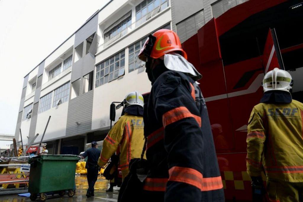 Tiga pekerja mati dan lima lain masih dalam keadaan kritikal dalam kebakaran di Stars Engrg, kata Kementerian Tenaga Manusia (MOM).