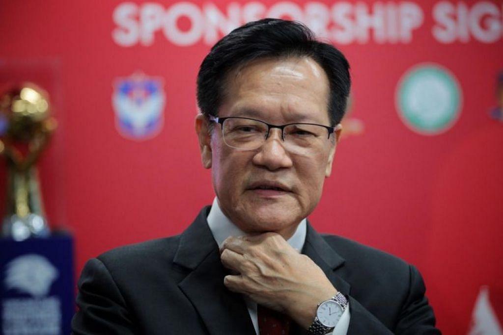Presiden Persatuan Bola Sepak Singapura Lim Kia Tong dan majlis jawatankuasanya dilantik memimpin badan bola sepak negara pada April 2017 untuk tempoh empat tahun.