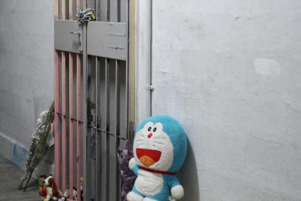 Wanita itu dan suaminya didakwa pada September 2019 kerana membunuh anak perempuan mereka di sebuah flat di Chin Swee Road pada Mac 2014.