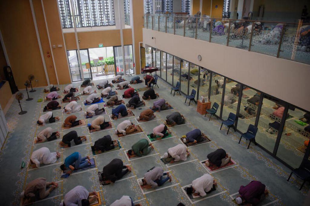 BOLEH TEMPAH LAGI KALAU ADA BAKI: Tempahan bagi slot baki yang belum diambil (bagi 2 hingga 10 Ramadan) akan dibuka pada Isnin (12 April, atau 1 Ramadan) selepas 9 malam.