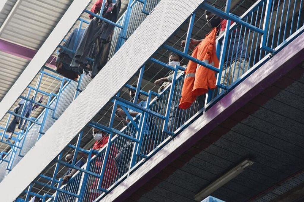 KES DORMITORI: Satu kes Covid-19 melibatkan penduduk dormitori dikesan pada Selasa (20 April). - Foto FAIL