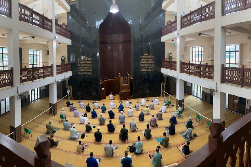 Masjid Alkaff Kampung Melayu antara empat masjid yang akan menjalani peningkatan dalam masa lima tahun akan datang.