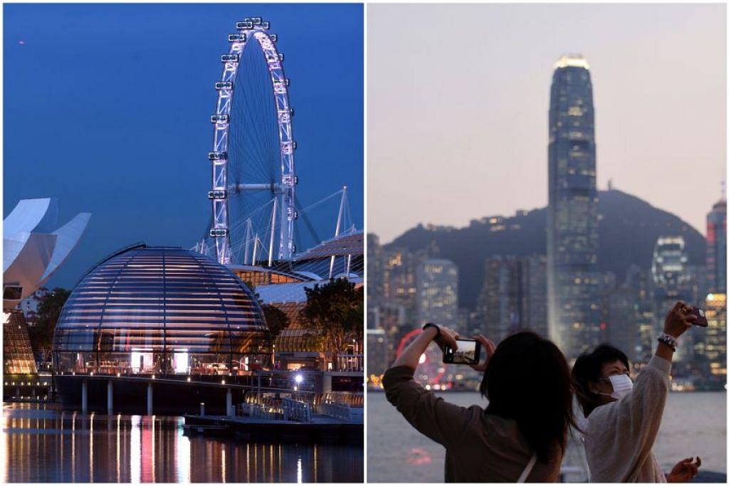 Singapura dan Hong Kong bersetuju menangguhkan pelancaran ATB untuk melindungi kesihatan pengunjung dan orang awam di kedua-dua negara. - Foto-foto DESMOND FOO, REUTERS
