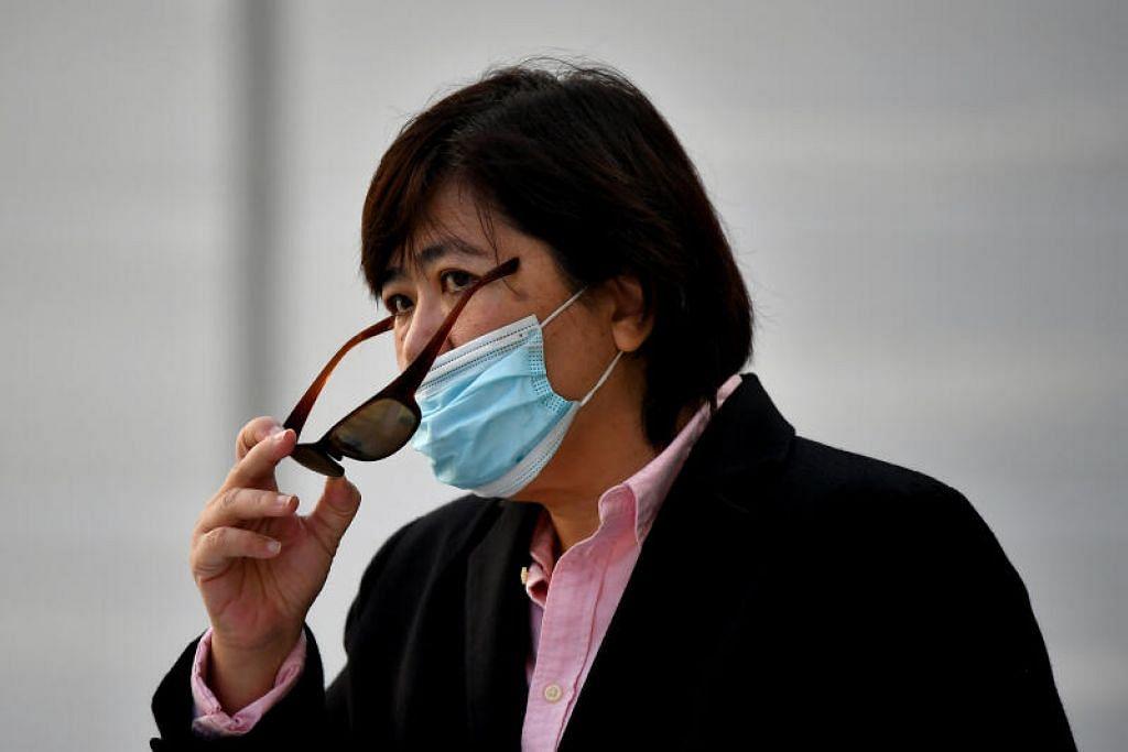 Phoon Chiu Yoke dibebaskan dengan ikat jamin $8,000. - Foto BH oleh LIM YAOHUI