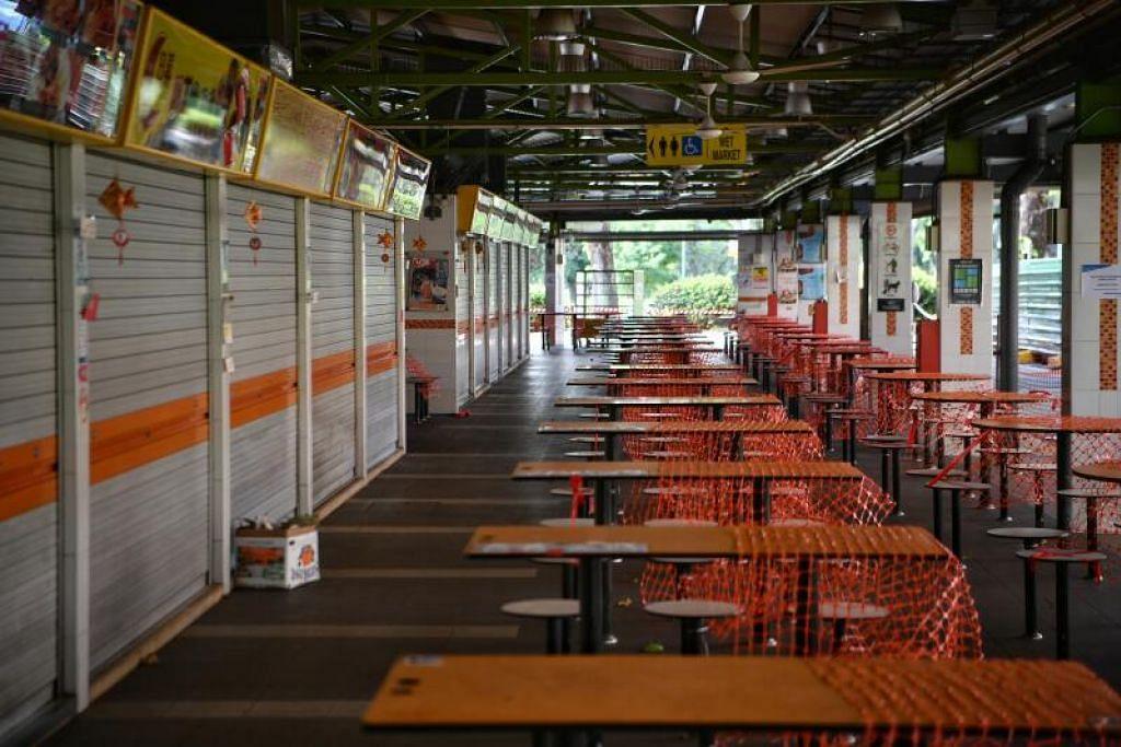 17 daripada 20 kes baru dalam masyarakat pada 17 Jun dikaitkan dengan kelompok Pasar dan Pusat Makan 115 Bukit Merah View yang kini ditutup. - Foto oleh ARIFFIN JAMAR