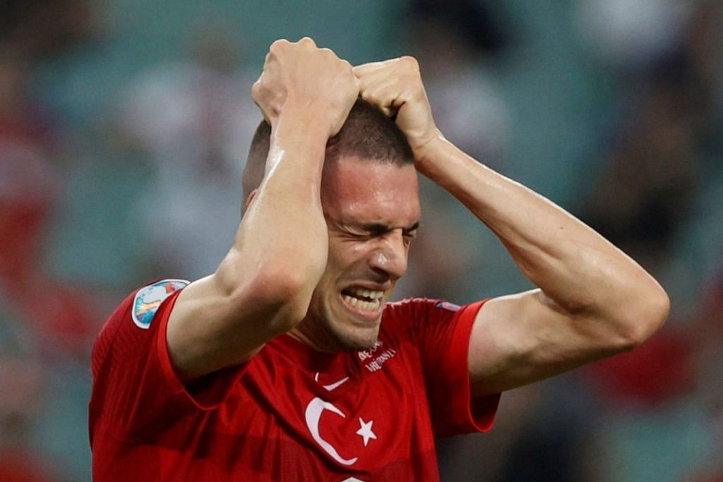 TURKEY: Sejauh ini mengecewakan... seperti yang dipaparkan oleh oleh Merih Demiral. - Foto REUTERS