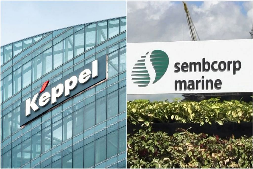 Foto KEPPEL CORP/SEMBCORP MARINE