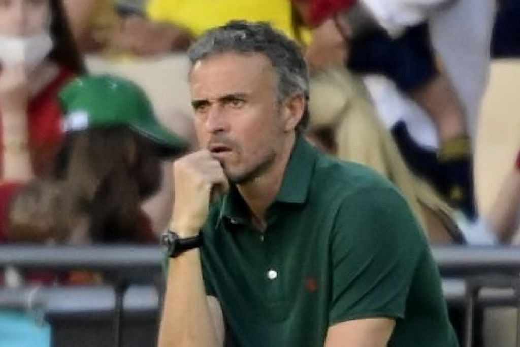 """""""Kami tidak bermain pada tahap yang diperlukan. Kami kurang intensiti, kurang keyakinan. Saya dan para pemain bertanggungjawab membetulkan keadaan."""" - Luis Enrique jurulatih Sepanyol."""