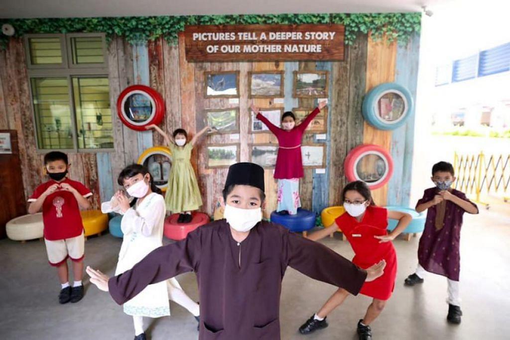 PERBEZAAN SATU KEKUATAN: Sambutan Hari Keharmonian Kaum pada 21 Julai di Sekolah Rendah  Fern Green. - Foto FACEBOOK PRESIDEN HALIMAH YACOB/MCI - BETTY CHUA