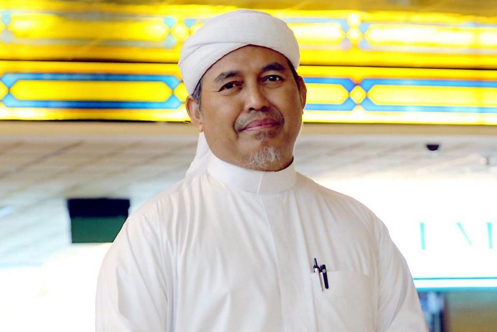 PENGERUSI MHDS: Ustaz Tengku Mohamad Fouzy Tengku Mahid Jumat.