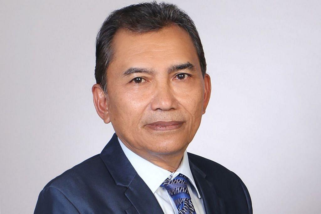 ENCIK SAAT ABDUL RAHMAN: Dilantik Presiden Muis.