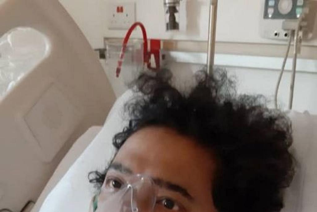 Penyanyi kumpulan Nuradee, Mohd Noor Abdullah, baru sedar dari koma. - Foto FACEBOOK/NURADEE