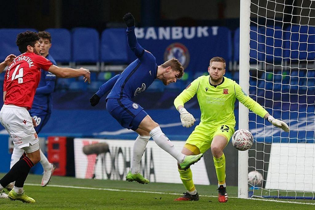 Leeds dimalukan kelab Liga 2; Chelsea, Spurs menang besar